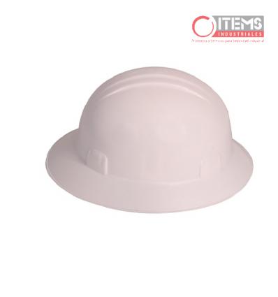 Casco Jyrsa Tipo Sombrero - Blanco