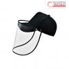 Gorra de Tela con Protector Facial