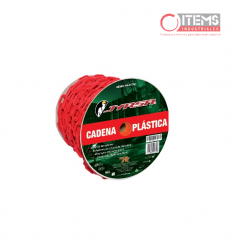 Cadena Plastica - Roja