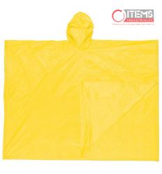 Capa Tipo Poncho PVC - Amarilla