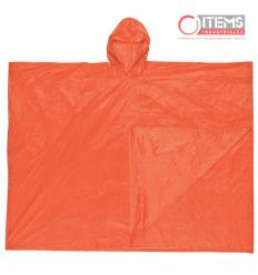 Capa Tipo Poncho PVC - Naranja