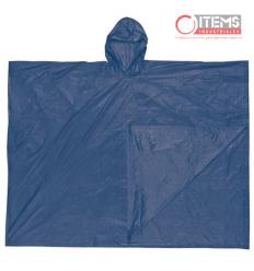 Capa Tipo Poncho PVC - Azul