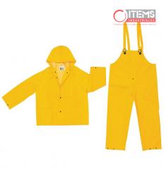 Capa PVC 3 Piezas - Amarilla