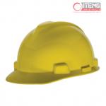 Casco V-Gard Tipo Gorra - Amarillo