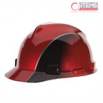 Casco V-Gard Tipo Gorra - Rojo / Negro