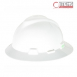 Casco V-Gard Tipo Sombrero - Blanco