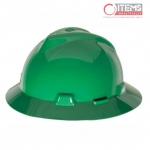 Casco V-Gard Tipo Sombrero - Verde